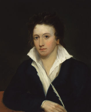 Percy Bysshe Shelley Portrait