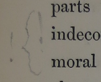 Curly marginalia example