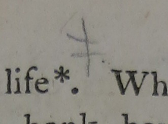 Footnote Mark marginalia example