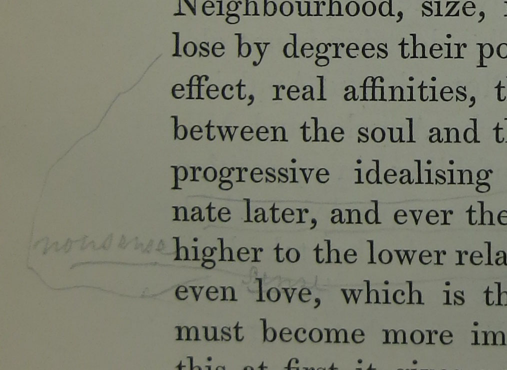 Loose marginalia example